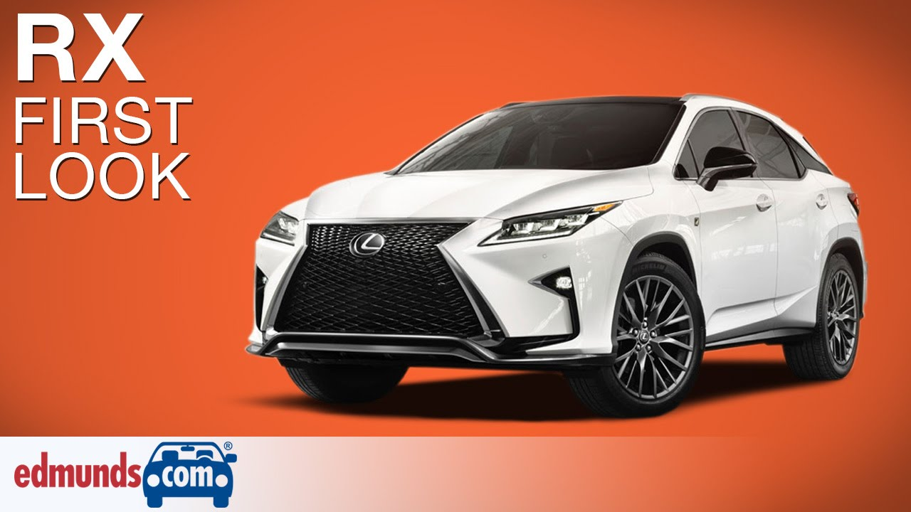 2016 lexus rx first look | new york auto show - youtube