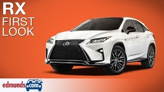 2016 Lexus RX First Look | New York Auto Show