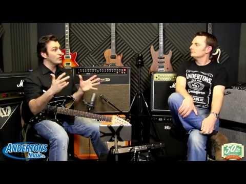 Line 6 Amplifi FX100 demo with Paul & the Cap!