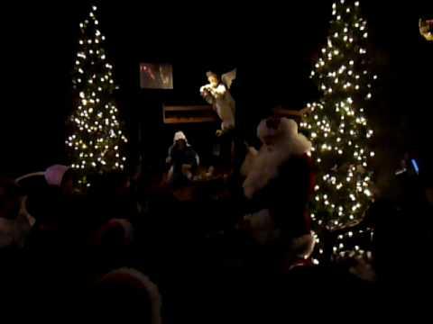 The Real Santa At Merrifield Garden Center Singing Two Songs