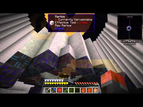 Let's Play Modded Minecraft S02E39 - The Asteroid-catcher-tron 9000