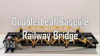 LEGO Based Microcontroller Controlled Double-Leaf Bascule Railway Bridge
