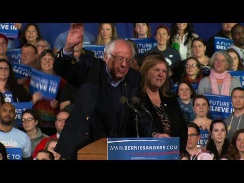 Bernie Sanders claims victory in Vermont (Full Speech)