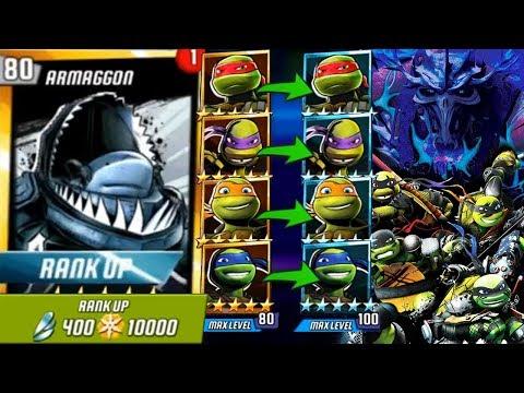 NICK TURTLES, SUPER SHREDDER And ARMAGGON. Update X Teenage Mutant Ninja Turtles Legends Episode #30