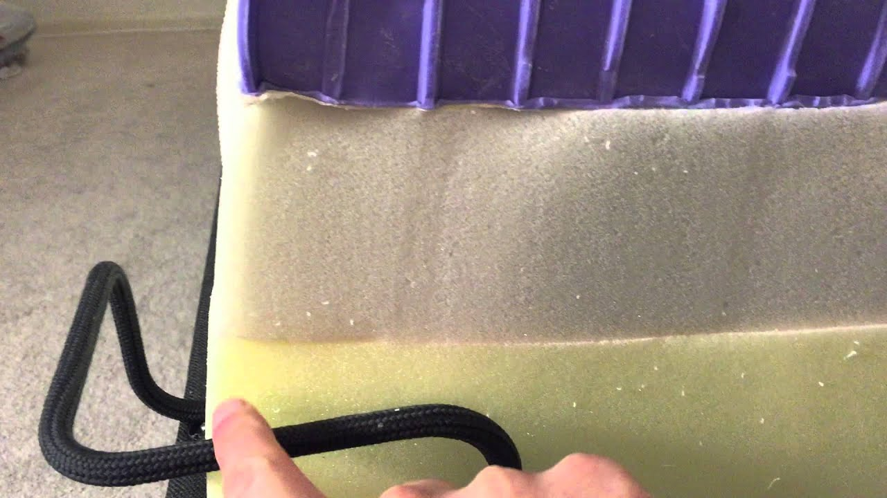 purple mattress squish test youtube. Black Bedroom Furniture Sets. Home Design Ideas
