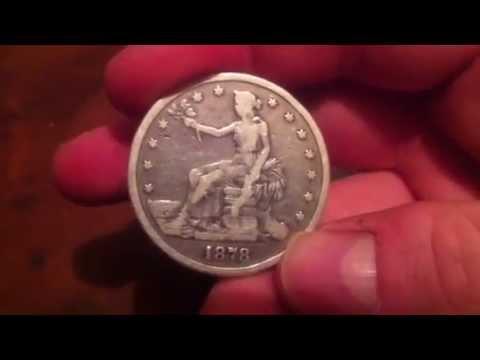 Got a 1878 trade dollar !