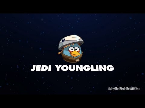 Angry Birds Star Wars 2 character reveals: Jedi Youngling - YouTube