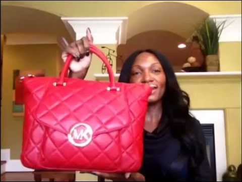 What's In My Purse and Review of Michael Kors Fulton Quilted Bag ... : michael kors fulton quilted tote - Adamdwight.com