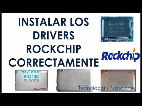 How to Install Rockchip USB Driver on Windows 10, 8, 7