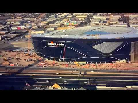"The ""M"" In ""Allegiant Stadium"" That Was Misaligned, Was Just Removed From Las Vegas Stadium"
