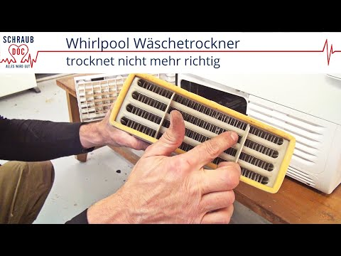 Fabulous Fehlersuche: Whirlpool Trockner trocknet nicht mehr richtig TA31