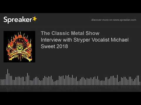 Interview with Stryper Vocalist Michael Sweet 2018