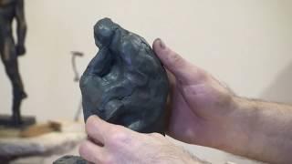 """""""Быстрые"""" этюды фигуры человека, часть 1 (Уроки скульптуры и рисунка)"""
