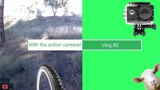 Κάνω ποδήλατο στο βουνό με την GoXtreme Enduro Black camera! (Vlog #2)