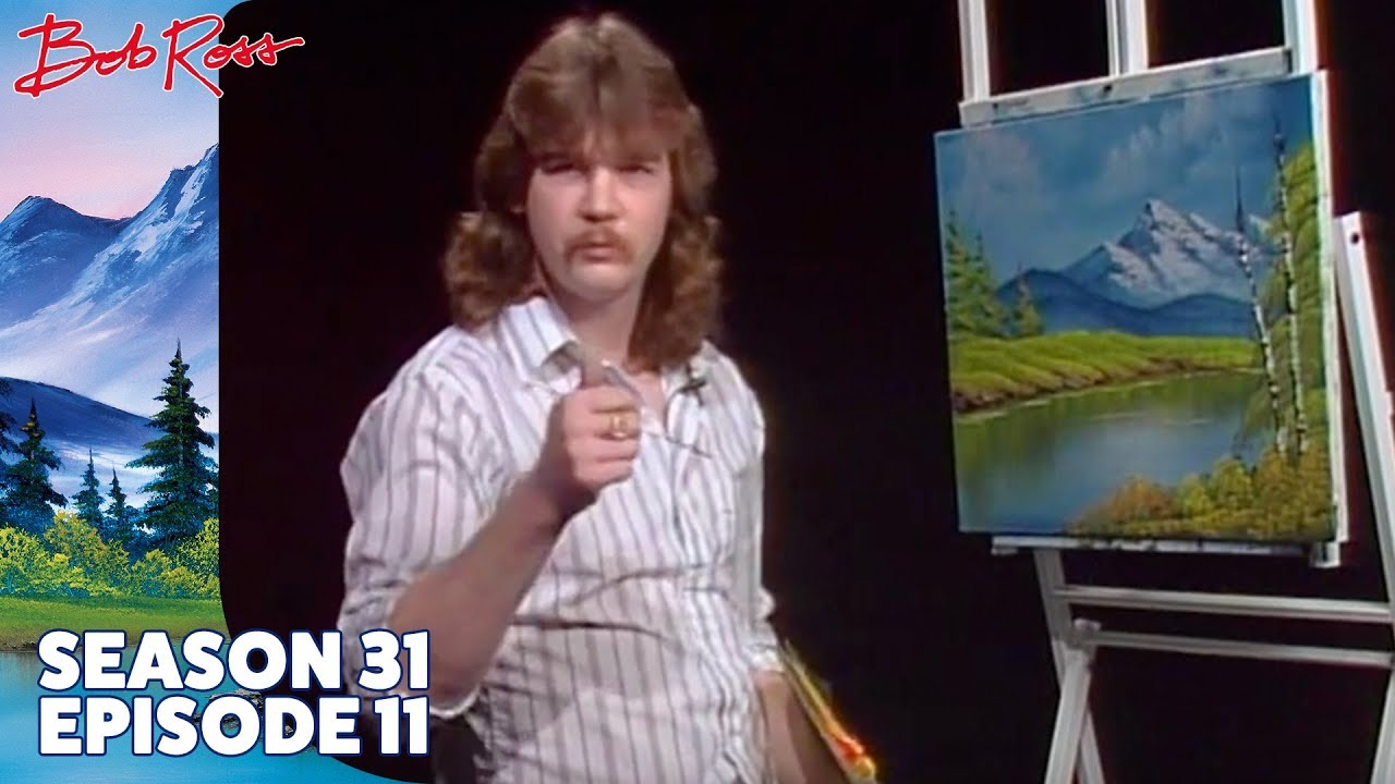 Bob Ross Lake At The Ridge Season 31 Episode 11 Youtube