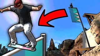 Can We DARKSLIDE The Flag? - Epic Challenges: Skate 3
