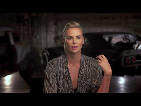 "The Fate of the Furious: Charlize Theron ""Cipher"" Behind the Scenes Movie Interview"