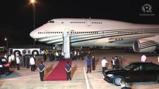 APEC 2015: Arrival of Sultan Hassanal Bolkiah, Brunei