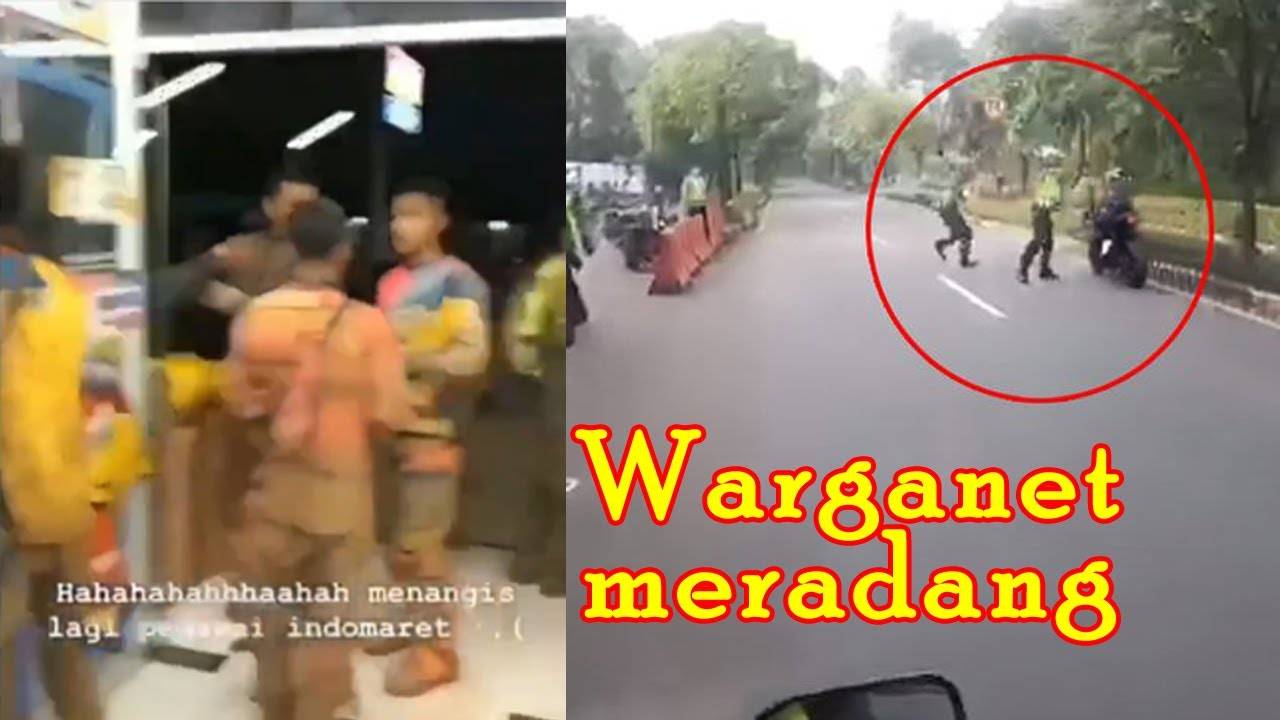 Viral Pemotor Trail Berlumpur Masuk Minimarket || Komunitas Moge Kabur Hindari Razia. Netizen Gemesh