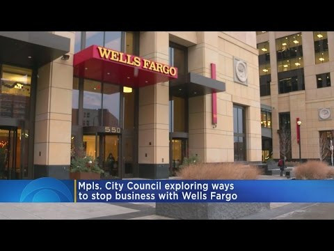 Mpls. Looks To End Business With Wells Fargo