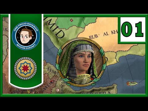 CK2 - Monarch's Journey: Arwa Al-Sulayhi #1 - Getting This Party Started