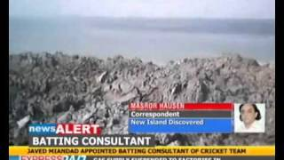 New island emerges near Balochistan coast