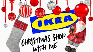 CHRISTMAS SHOP WITH ME *IKEA* {GABRIELLAGLAMOUR}