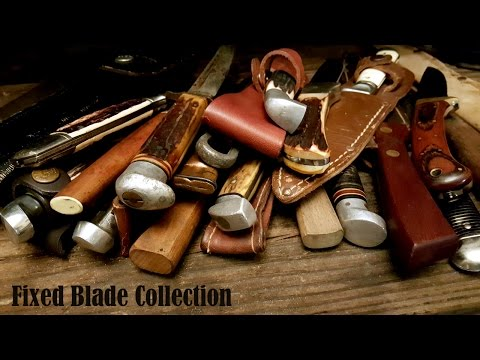 Fixed Blade / Hunting Knife Collection