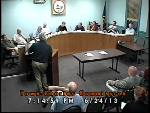 Town Charter Commission 06/24/2013 (Newmarket, New Hampshire)