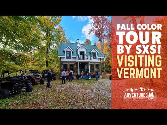 Fall Color Tour VERMONT SxS