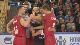 Отличная защита Романа Мартынюка
