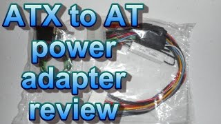 ATX to AT power adapter converter review with -5V
