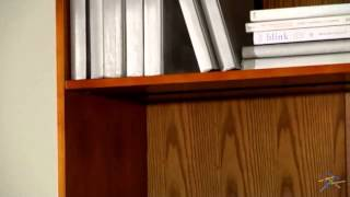 Remmington Heavy Duty Bookcase With Reinforced Shelves - Oak - Product Review Video