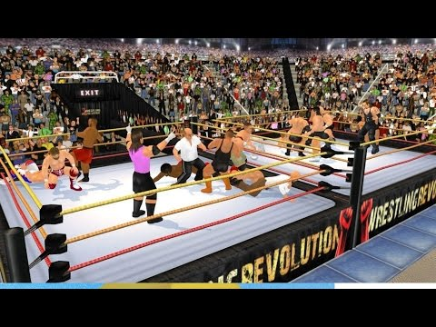 Wrestiling Revolution 3D: Gameplay and a Full Tag Team Match