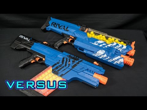 Nerf Rival Nemesis | Toy Fair Demo & Analysis | Doovi