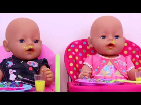 Baby Fun- Baby Dolls messy feeding vacuum cleaner doll hous-Baby Doll Washing Machine Laundry toys