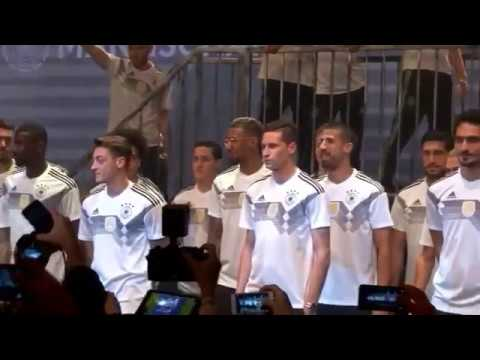 Germany football team unveils retro jersey for 2018 FIFA World Cup