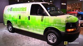 2017 Chevrolet Express Cargo Van - Exterior and Interior Walkaround - 2017 NY Auto Show
