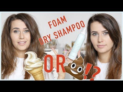 Dry Shampoo Foam?! First impressions & demo! (Cruelty Free & Vegan!) - Logical Harmony