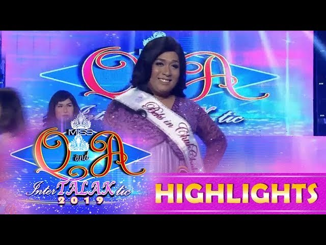 It's Showtime Miss Q & A: Juliana Ganda Rabia wins the Miss Q & A Beks In Chukchak Of The Day award