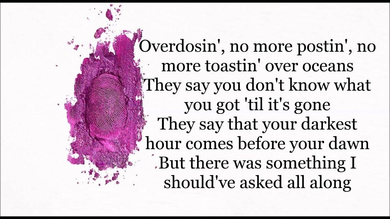 Nicki Minaj ft Skylar Grey Bed Lies Lyrics Video