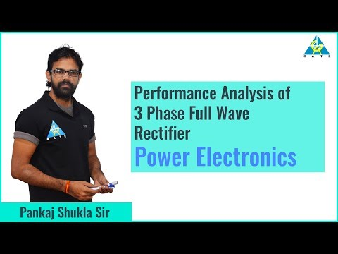 Performance Analysis of 3 Phase Full Wave Rectifier | Power Electronics