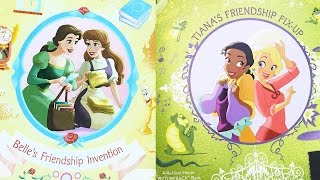 Disney Princess: Belle and Tiana Fairy-Tale Friendship | Story Time with Disney Family LIVE