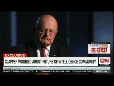US intelligence chief James Clapper directly challenges Trump FULL interview