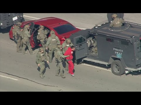 Raw Video: Fort Worth Chase; Stand-Off Ends With Suspect In Custody