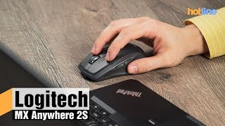 Logitech MX Anywhere 2S — обзор беспроводной мыши