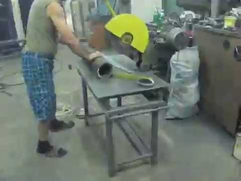 Видео Труба 350 мм стальная