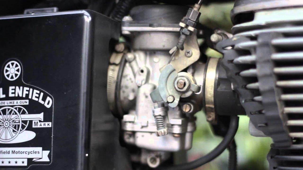 Bullet Standard 500 Carburettor Adjustment Setting
