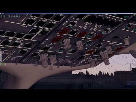 X-plane 11   Сухой суперджет 100 (SSJ-100)   Pilot2ATC   ULAA - ULMM