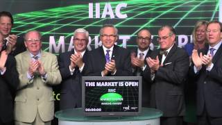 The Investment Industry Association of Canada opens Toronto Stock Exchange, June 26, 2014
